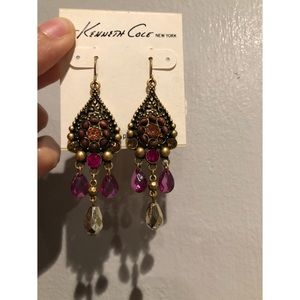 Kenneth Cole long beaded earrings 💓
